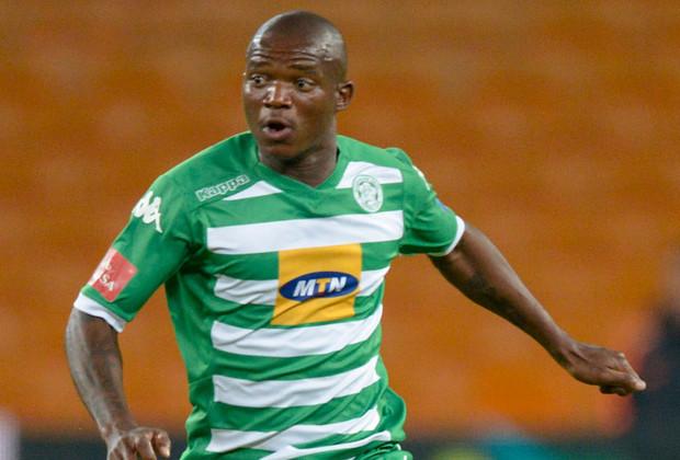 Bloemfontein Celtic midfielder Lantshene Phalane