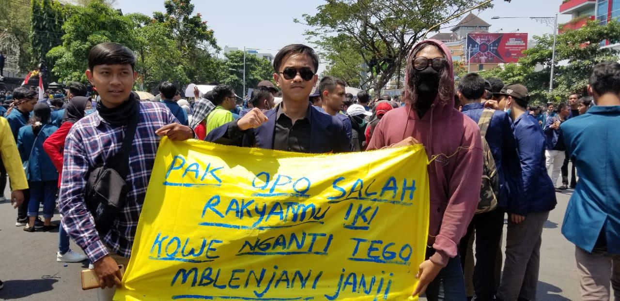 Aktivis Mahasiswa Universitas 17 Agustus 1945 (UNTAG) Semarang