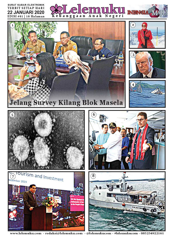Harian Lelemuku #1 - Jelang Survey Kilang Blok Masela - 22 Januari 2020