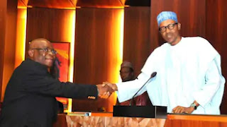Why I dealt with Onnoghen - Buhari declares