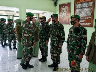 Dandim 0719/Jepara Pimpin Korps Raport Purna Tugas Dan Masuk Satuan