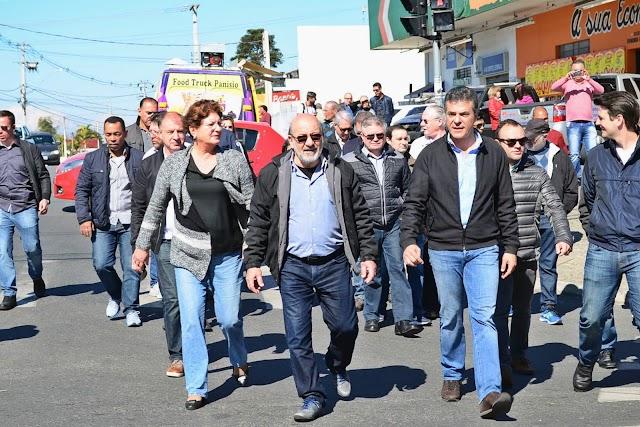 Obras na Rua da Pedreira beneficiam moradores e comerciantes da região