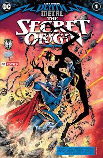Se agrega el one-shot especial de Secret Origin #01 del evento de Dark Nights: Death Metal gracias a la alianza entre 9 Reinos, AT-Cómics y el Rincón Geek.