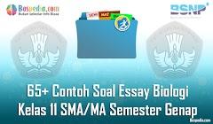 Lengkap - 65+ Contoh Soal Essay Biologi Kelas 11 SMA/MA Semester Genap Terbaru
