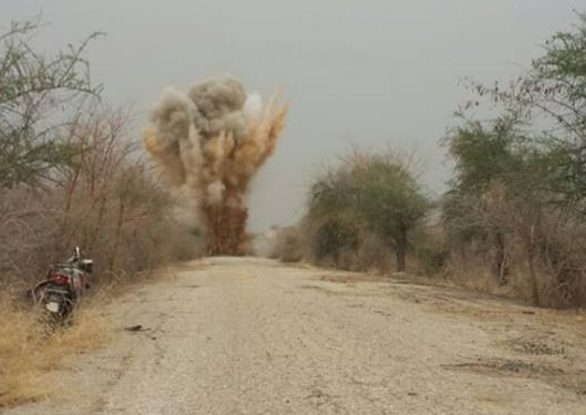 boko haram wiped out borno village