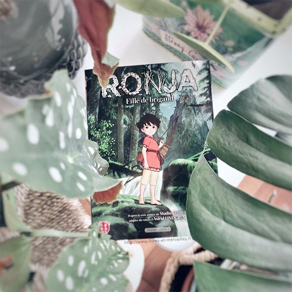 Anime comics : Ronja fille de brigand