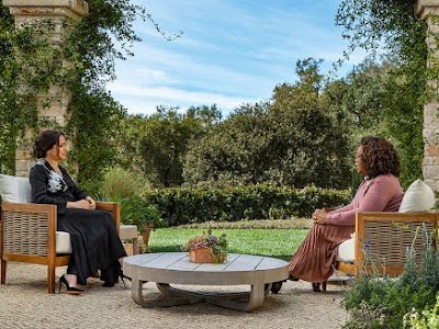 A new clip from bombshell interview Oprah with Prince Harry and Duchess Meghan