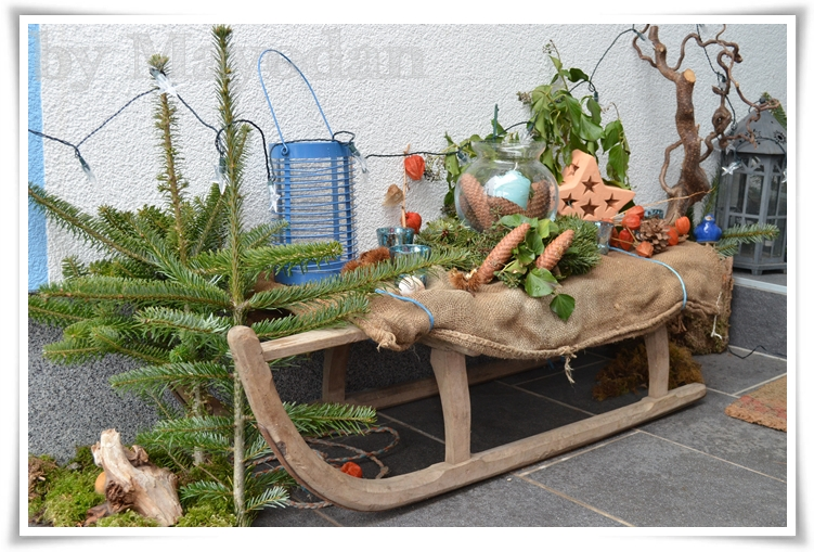 Winter bei meinen eltern mayodans home garden crafts for Winterdeko garten