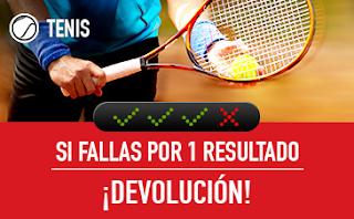 sportium Devolucion combinada tenis 1-7 octubre