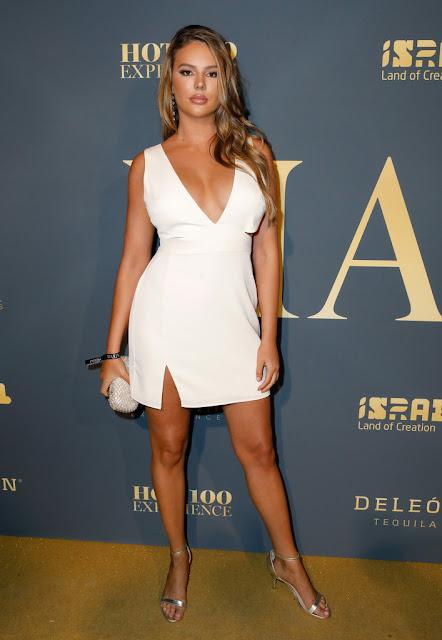 Zita Vass White Dress Photos At Hollywood Palladium in Los Angeles Actress Trend