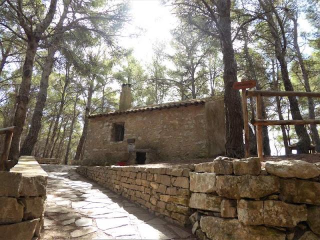 casa forestale a carcaredda