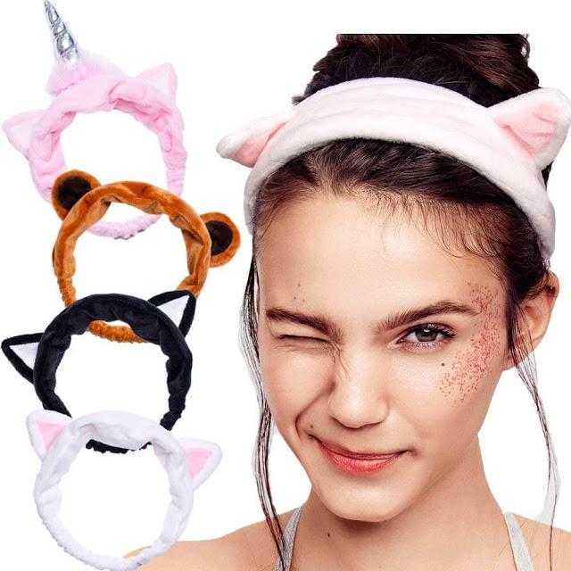 I Dew Care Cat Headband bundle on amazon