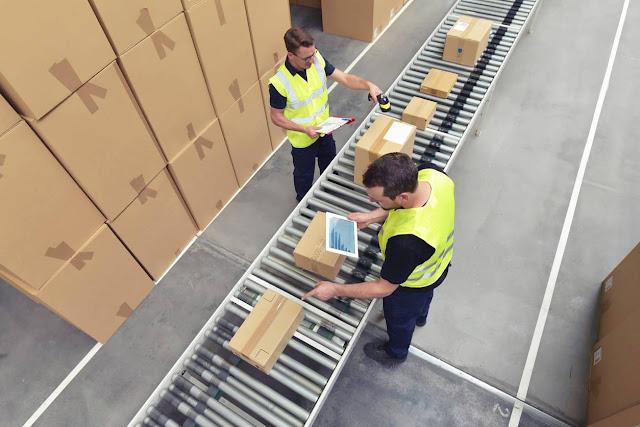 emballage usine logistique