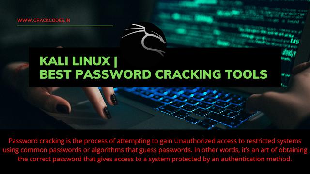 Kali Linux | Best Password Cracking Tools