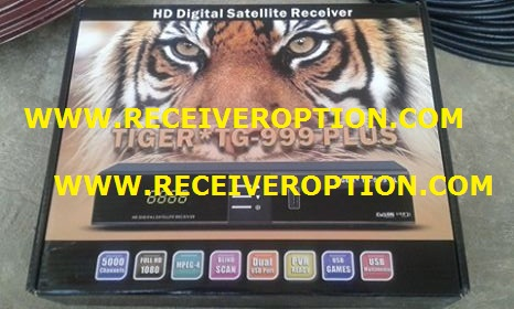 TIGER TG-999 PLUS HD RECEIVER POWERVU KEY ORIGINAL NEW SOFTWARE