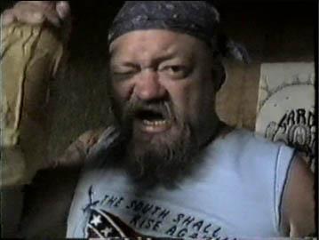 El Duce The Mentors wasted drunk. #PMRC PunkMetalRap.com