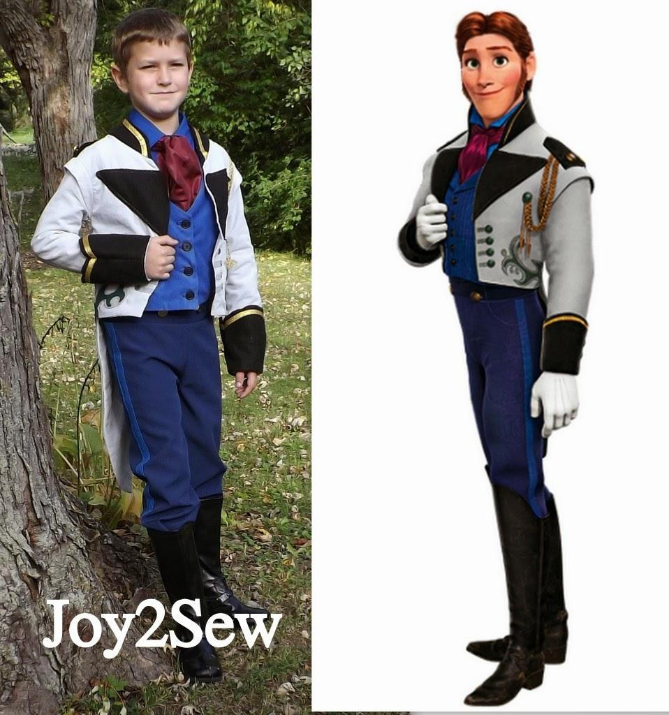 Hans Frozen Costume