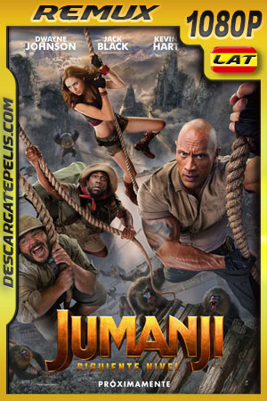 Jumanji: El siguiente nivel (2019) 1080p BDRemux Latino – Ingles