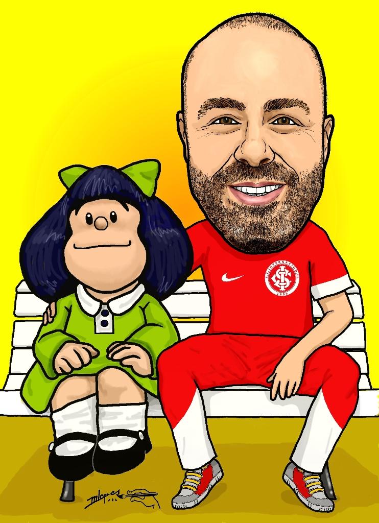Sou fã da Mafalda - #Mafalda e eu