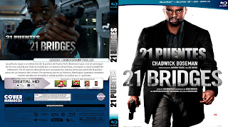 CARATULA 21 PUENTES-21 BRIDGES 2019[COVER BLU-RAY]