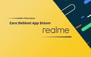 Cara Hapus Aplikasi Sistem realme dengan Debloat Command ADB, No Root