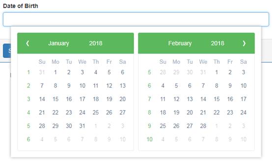 angular date range picker