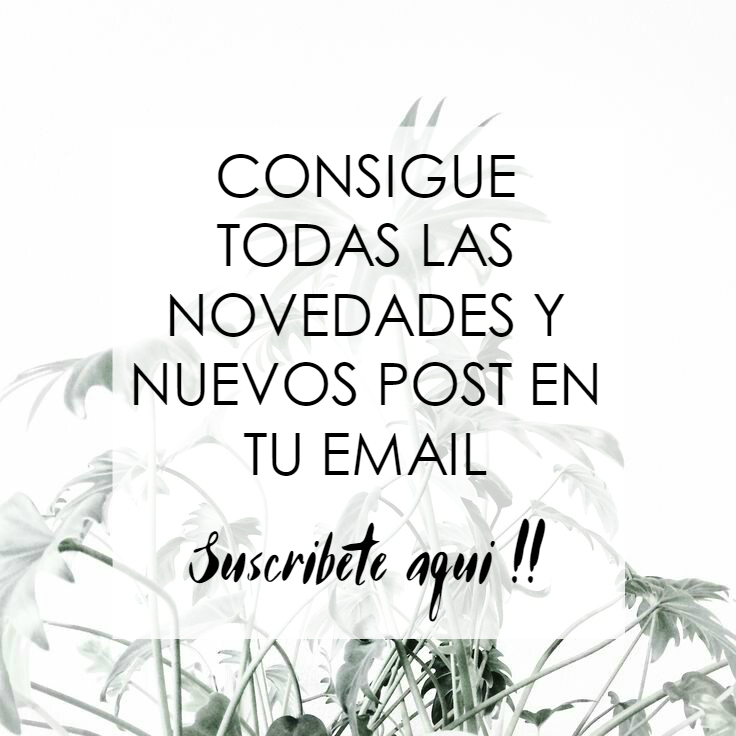 ¡Suscribete al Blog!
