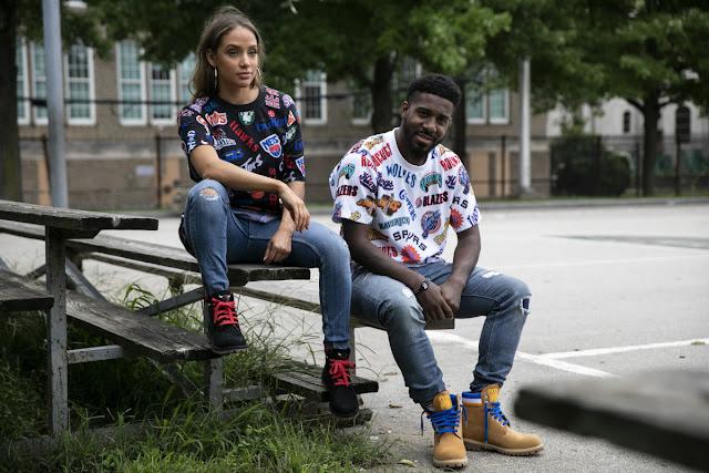Timberland X Mitchell & Ness X NBA t-shirt