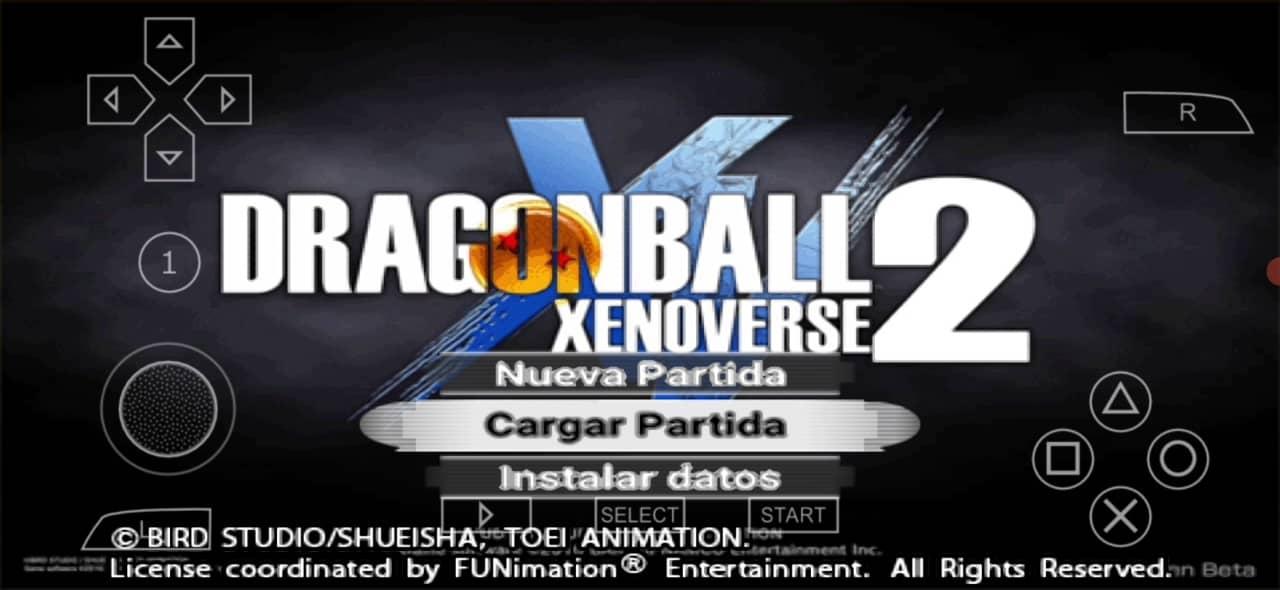 Dragon Ball Xenoverse 2 Mod PSP