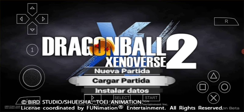 Dragon Ball Xenoverse 2 Mod PSP Version Latino With Permanent Menu