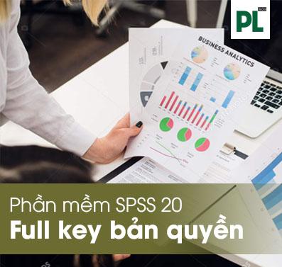 phần mềm SPSS 20 Full