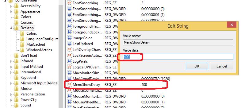 Cách tăng tốc menu chuột phải trên Windows