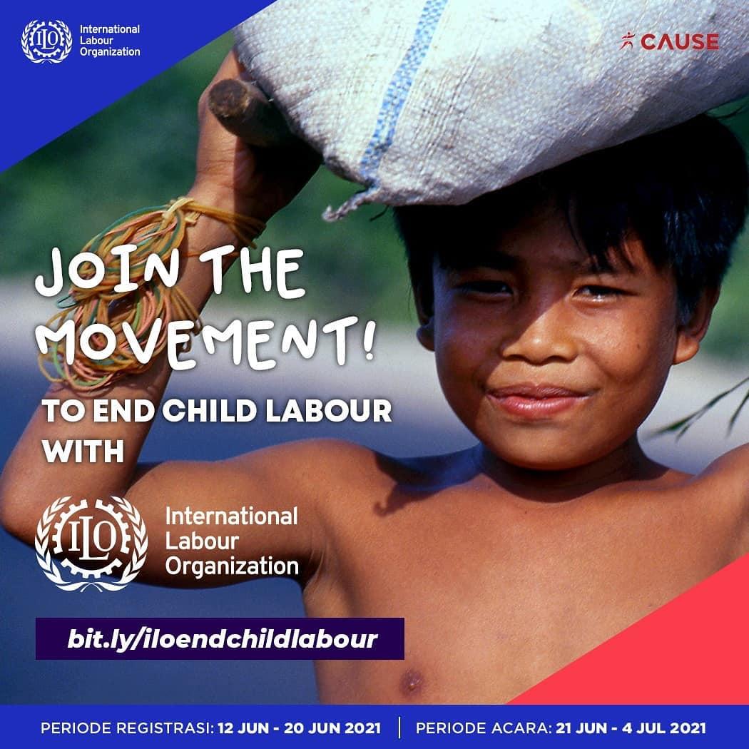 Act Now 🧒 ILO End Child Labour Virtual Race • 2021