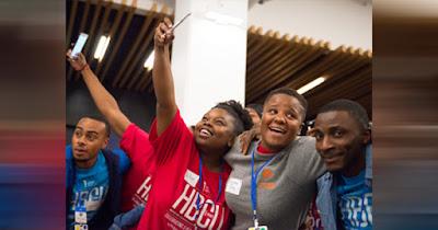 Intel African African American scholarship recipients