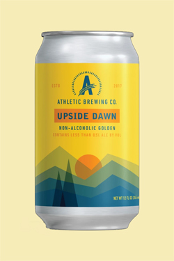 Athletic Brewing Upside Dawn Beer Can