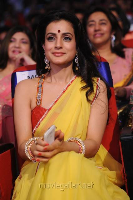 Amisha Patel & Dia Mirza At TSR-TV9 FILM AWARDS