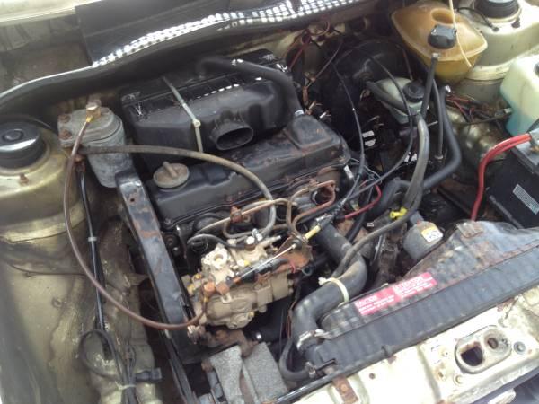 vw rabbit  door diesel hatchback buy classic volks