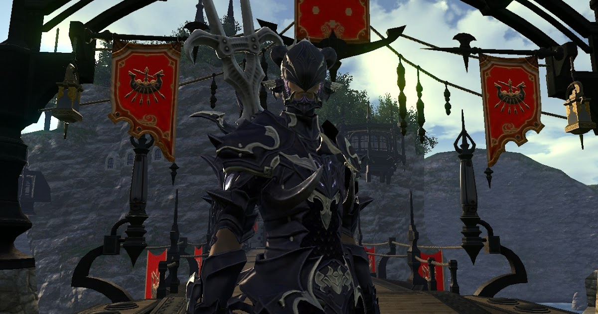 The Ishgardian: Dragoon Armour.... and the Chocobo Barding