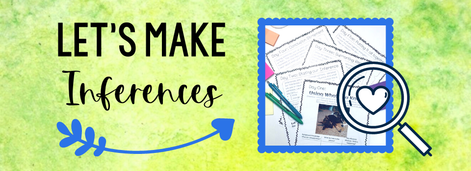 Making inferences is one of the toughest skills to teach, and you'll find lots of support here. Check out this post for a round up of teaching resources and ideas.