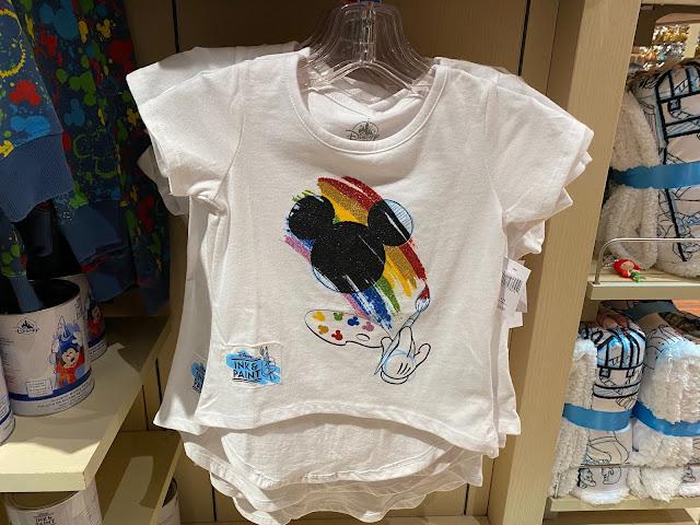 Ink & Paint Girls Glitter Paint Shirt