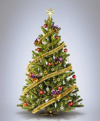 Kumpulan Gambar Pohon Natal Cantik dan Indah   The Kolor