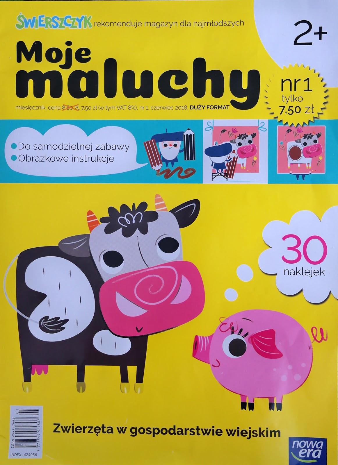 magazyn dla dzieci w dużym formacie