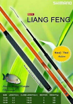Joran Tegek Shimano Liang Feng