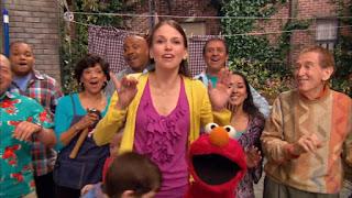 Sutton Foster Sesame Street Episode 4306 The Letter G Song