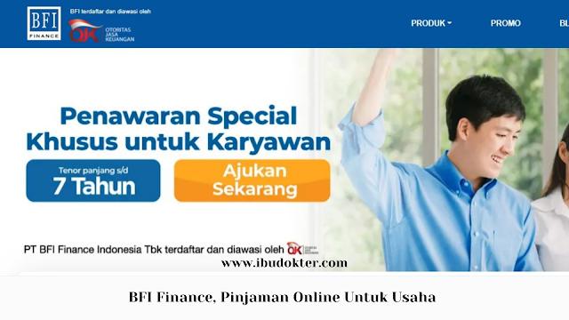 BFI Finance Pinjaman Online Untuk Usaha