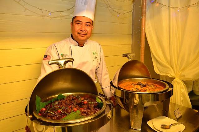 Chef berpengalaman di Ancasa Royale
