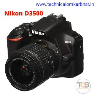 Nikon D3500 DSLR Camera Price - Best DSLR camera Price in India