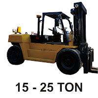 Rental Forklift 15 - 25 Ton