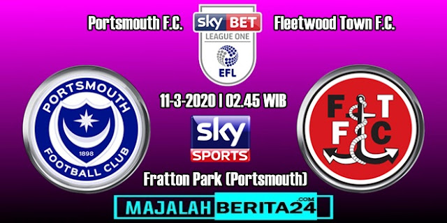 Prediksi Portsmouth vs Fleetwood Town