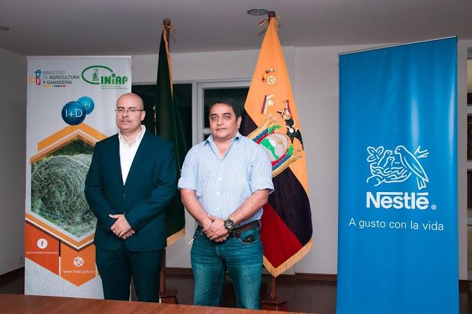 Nestlé e INIAP firman segundo convenio de cooperación